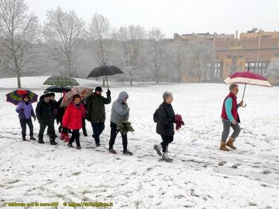 ● 1° febbraio 2019 con la neve