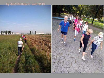 ● 17/09/2019 – I Camminatori continuano a … camminare