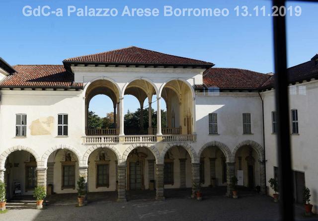 ● 13/11/19 – Visita a Palazzo Arese Borromeo di Cesano Maderno