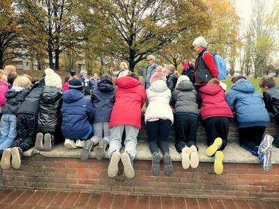 ● 21/11/17 – Festa degli Alberi al Parco Centrale con la 4a C Montessori