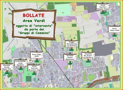 ● Aggiornamento: Nuove aree verdi inserite nel sito
